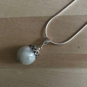 Genuine Natural Milk Quartz Necklace